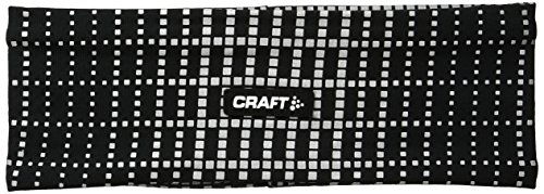 Craft cr1904303 Stirnband Running Unisex Large - X-Large 9999 Noir/Reflective