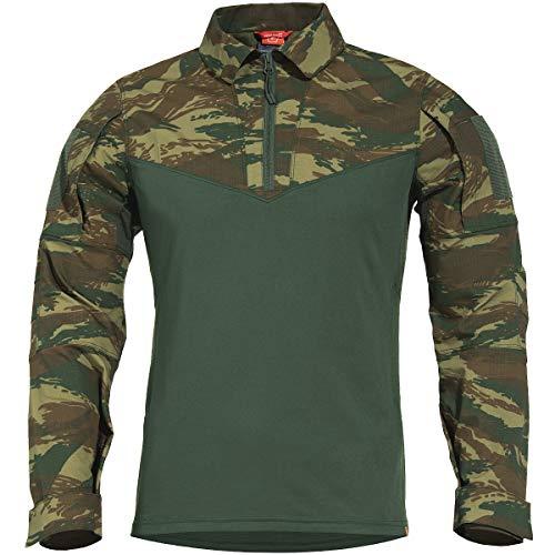 Pentagon Herren Ranger Tac-Fresh Hemd Greek Lizard Größe S