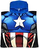 Marvel Avengers / Spiderman Hooded Poncho Beach Towel Bath Swimming Towel Boys Kids Childrens One Size