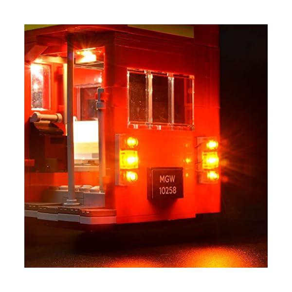BRIKSMAX Kit di Illuminazione a LED per London Bus, Compatibile con Il Modello Lego 10258 Mattoncini da Costruzioni… 4 spesavip