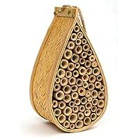 Sanger Outdoor Garden Bee Haus und Insekten Home–Ideal Habitat für Orchard, Mason, solitärbienen, Carpenter, Honig, andere Native Bestäuber Bienen und Bugs. Produkt kommt komplett mit Bonus Seil Hänger