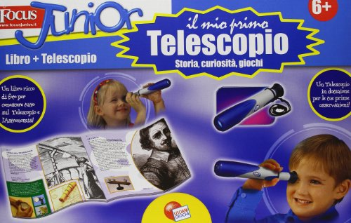 Telescopio. Focus Junior. Con gadget