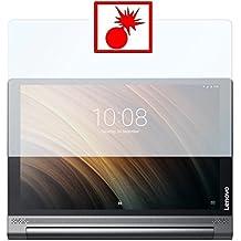 "2 x Slabo Protector de pantalla blindado para Lenovo Yoga Tab 3 Plus 10"" ""Shockproof"" A prueba de golpes Invisible MADE IN GERMANY"