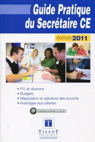 Guide pratique du secrtaire CE 2011
