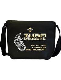 Tuba Largest Instrument - Sheet Music Document Bag Musik Notentasche MusicaliTee