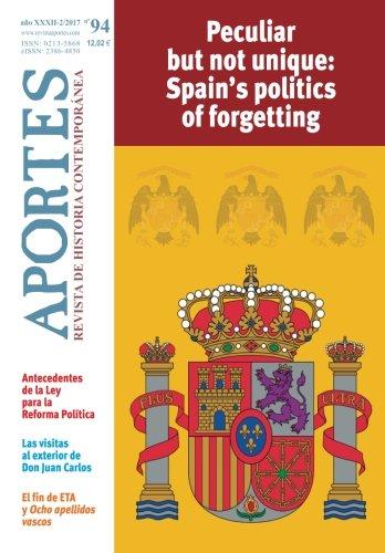 Aportes. Revista de Historia Contemporánea. Nº 94: Año XXXII (2/2017) por Revista Aportes