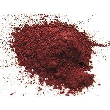 Flashing Wine Red 15g - Clignotement rouge vin Mica en poudre 15 grammes, Rouge rubis poudre métallique, d'un cosmétique Mica en poudre pour les rouges à lèvres, baume à lèvres, Bath Bombs et plus, tranche de la lune