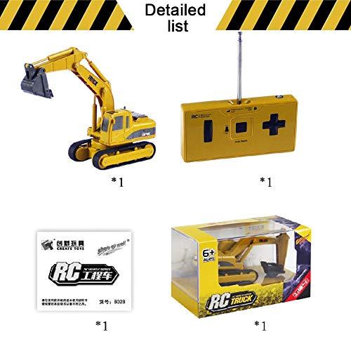 RC Auto kaufen Baufahrzeug Bild 6: SH-Flying RC Construction Truck, Auto Spielzeug, BAU Spielzeug, Innovative Mini-Fernbedienung LKW Bagger Fernbedienung Auto simulierte Auto Modell Spielzeug Bagger Spielzeug*