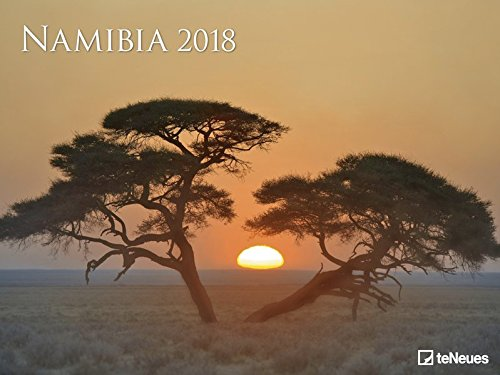 Namibia 2018 - Landschaftskalender, Fotografie, Safari  -  64 x 48 cm