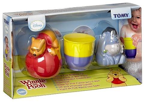 Tomy Winnie l'Ourson - 71877 - Jouet Premier âge - Coffret Jouets de Bain