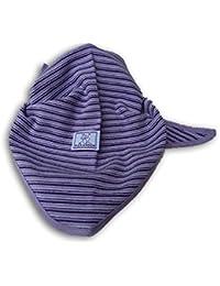 PICKAPOOH Dreiecktuch lila-flieder gestreift, Unisex - Baby