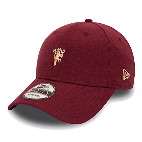 Gorra New Era – 9Forty Maroon Manchester United granate