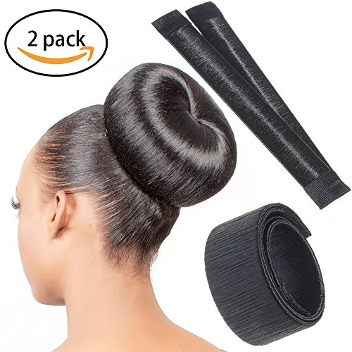 Chronex Girl's 1 Pc Perfect Hair Bun Making Styling French Twist Donut Hairstyle Tool (beauty-202)