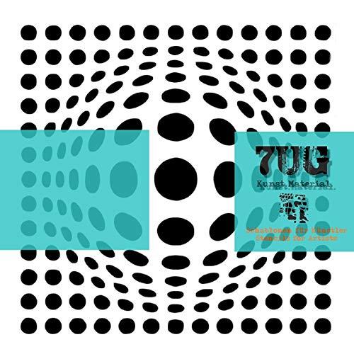 7UG Designer Schablone, Motiv Retro, Mixed Media, 015, Texturen für Künstler