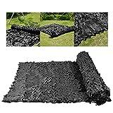 Camouflage net LZPQ Tarnnetz Schwarz Tarnnetz Einschichtig Pflanzennetz Stoffbezug Netz 1,5 * 9m, Schutznetz 1,5 * 10m Im Freien Wald/GewäChshaus/Pflanze/Haube