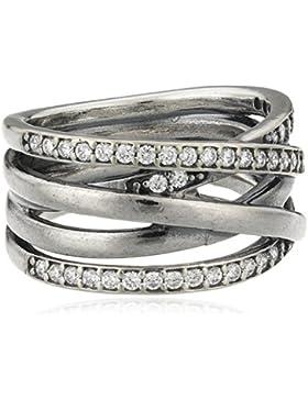 Pandora Damen-Ring 925 Silber Zirkonia weiß 190919CZ