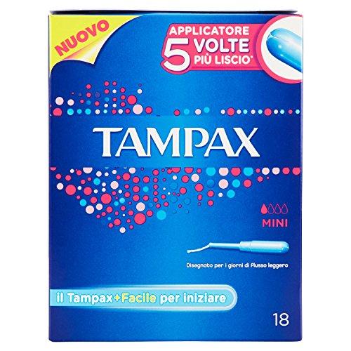 Tampax–Pads 18Stück (Tampon Pad)