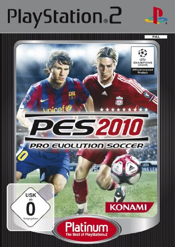 Pro Evolution Soccer 2010 Platinum (PES 2010) (Ps2 Konami)