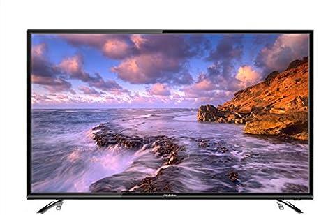 Medion P18077 MD 31077 163,9 cm (65 Zoll) LCD-Fernseher (mit LED-Backlight Technologie, Full HD, 1920 x 1080 Pixel, HD Triple Tuner, DVB-T2 HD/C/S2, CI+, 3x HDMI, 1x USB, integrierter