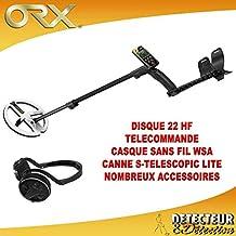 XP Metal ORX – Disco 22 HF con Mando a Distancia y Auriculares WSA – Funda