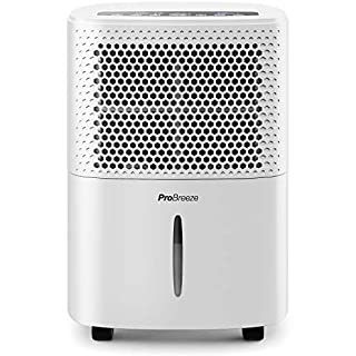 Pro Breeze® 12L/Day Dehumidifier with Digital Humidity Display, Sleep Mode, Continuous Drainage, Laundry Drying and 24 Hour Timer - Ideal for Damp and Condensation