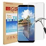 Verre trempé Samsung Galaxy S8, Kany Galaxy S8 Protecteur d'écran en verre trempé de [9H Dureté] [Anti-empreinte digitale] [Sans bulle] Couvercle d'écran transparent pour Samsung Galaxy S8...