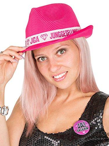 Generique - JGA Hut für Damen in Pink und Weiß