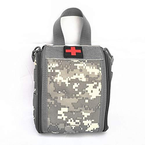 Gaoominy Nylon Medizinisch Tasche Erste Hilfe Sets Utility Medizinisch Zubeh?r Tasche Au?en Jagd Wandern überleben Modular Medic Tasche Beutel ACU Tarnung -