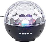 auvisio Box: Mobile Discokugel m. Bluetooth, 12-W-Lautsprecher, MP3-Player, 1200mAh (Lichtkugel)