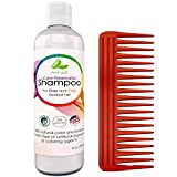 Honeydew Color Preservation Shampoo for Graying & Color Treated Hair with Comb Gift