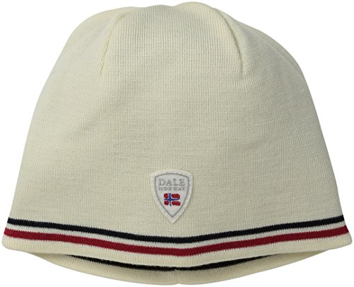 Dale of Norway Erwachsene Hüte Flagg Hat Hat Hat, a, One size White Stripe Beanie