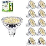 MR16 GU5.3 LED 5W Blanc Chaud 3000K Ampoule Equivalent à 35W Halogène Lampe 400...