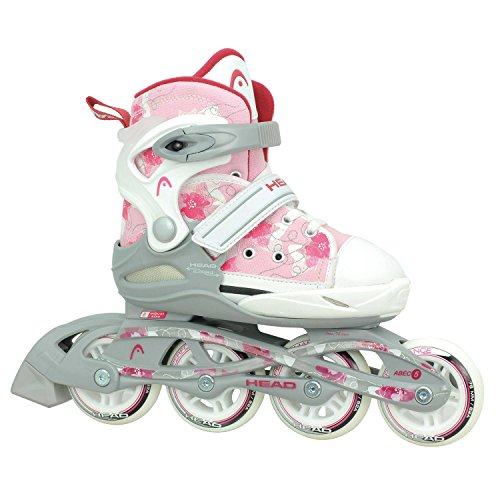 Head Kinder Inlineskates für  Kid, 6-fach verstellbar, ABEC 5 Kugellager