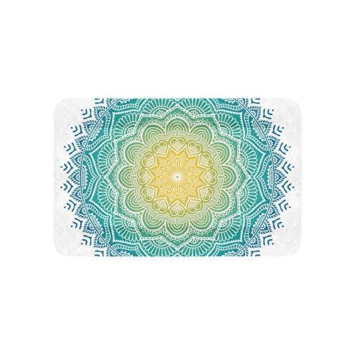 Enhusk Mandala Design Kunst Extra Große Individuell Bedruckte Bettwäsche Weiche Hundebetten Couch Für Welpen Und Katzen Möbel Matte Cave Pad Kissenbezug Innen 36x23 Zoll