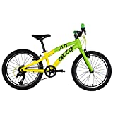 ollo Bikes - Kinderfahrrad 20 Zoll für Jungen und Mädchen von 6-8 Jahren - 8-Gang Schaltung - Engineered in Germany: Top-Qualität, Alu-Rahmen, Hochwertige Komponenten, Nur 9,0 kg (Grün/schwarz)