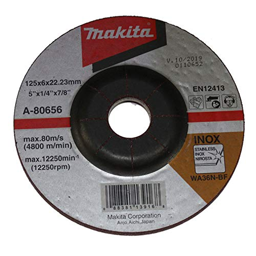 Makita A-80656 Schruppscheibe 125x6x22,23mm