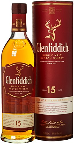 Glenfiddich Solera VAT 15 Jahre Single Malt Scotch Whisky (1 x 0.7 l)