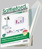 Sattleford Bedruckbare Folie: 50 Inkjet-Overhead-Folien transparent (Inkjetfolien)