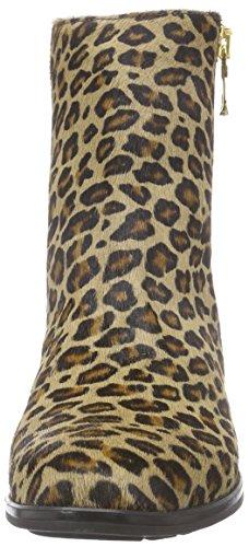 Diavolezza HANNIE Damen Kurzschaft Stiefel Mehrfarbig (Leopard)