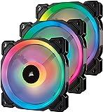 Corsair Lüfter LL120 RGB LED PWM 3 Fun Pack Dual-Licht-Loop RGB LED PWM Lüfter...