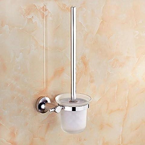 YUPD@Spazio semplice alluminio luce bagno WC Portascopino