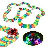 Circuito de Coches de Juguete Luminosos para Niños