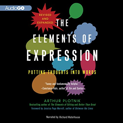 The Elements of Expression  Audiolibri