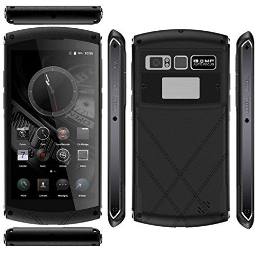 Rugged Handy 4G Android Fingerabdruck Octa Core 5Zoll FHD Display 4GB 64GB Smartphone Wasserdicht Wasserfest Quad Core Dual Standby Freien Cellphone