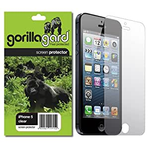 gorillagard Crystal Clear, Self Healing, Drop Fit Screen Protector For iPhone 5