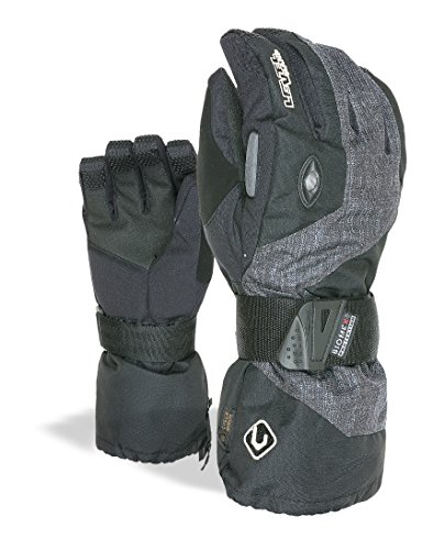 Level Erwachsene Handschuhe Clicker II, Black, 10.5, 8051770398837