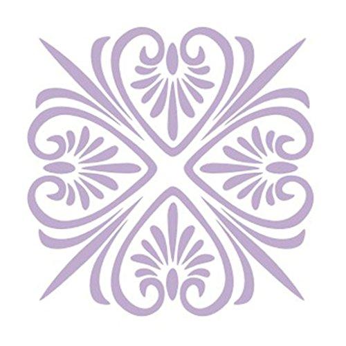 Homyl DIY Blumenmuster Maler Wandschablone Schablone Wandmalerei - # 2