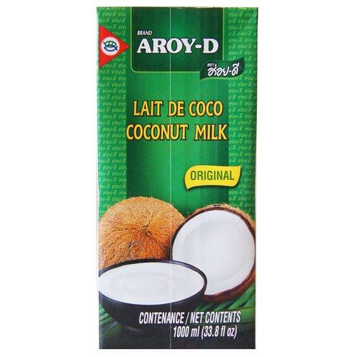 AROY-D Lait de Coco 100% 1 litre