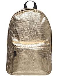 fringoo Mujer Hombre holográfico Mochila Escolar Viaje Gimnasio Holograma Mochila Cabina Equipaje de Mano Fashion Bag Hipster