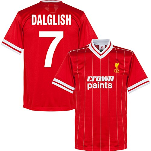 1982 Liverpool Home Retro Trikot + Dalglish 7 - S